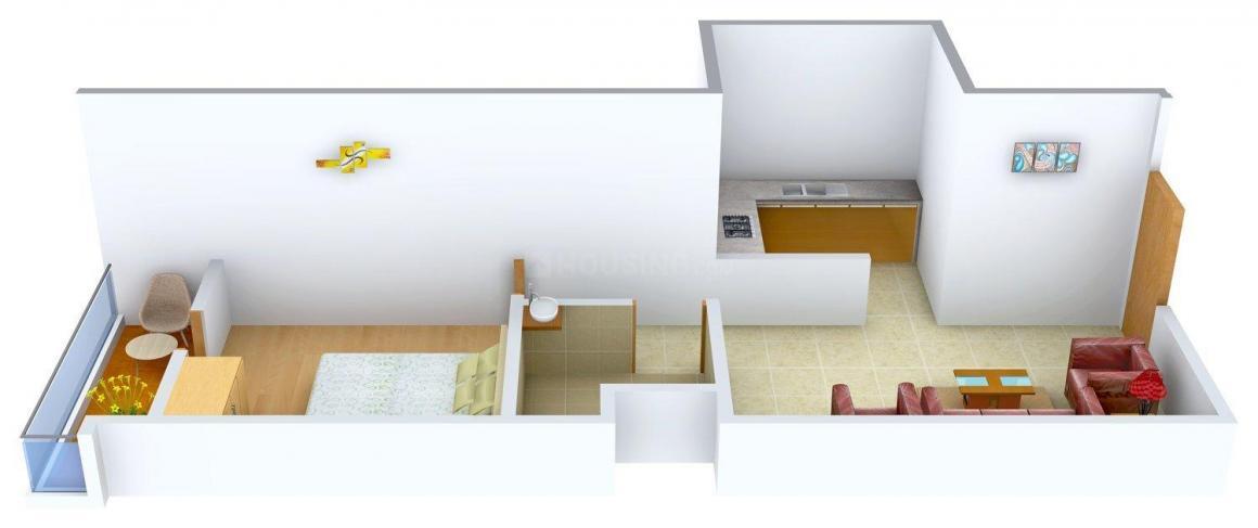 Floor Plan Image of 570 - 923 Sq.ft 1 BHK Apartment for buy in A Shrichandra Gupta Mayashree Residency