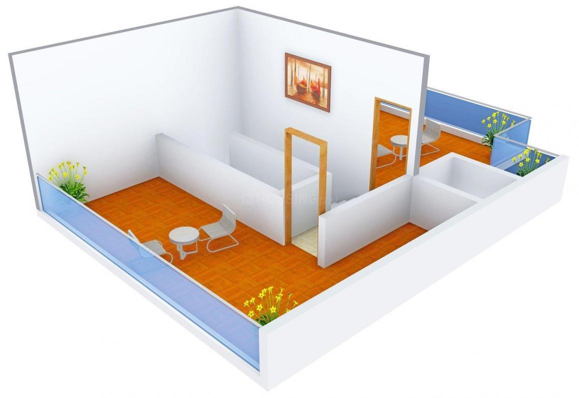 Deore Shubhamkaroti Floor Plan: 3 BHK Unit with Built up area of 3000 sq.ft 4