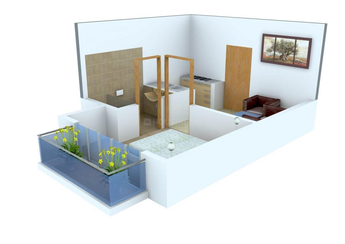 Saviour Street Floor Plan: 1 BHK Unit with Built up area of 480 sq.ft 1