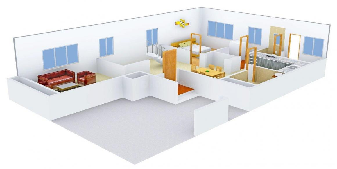 Floor Plan Image of 2565 - 3238 Sq.ft 4 BHK Villa for buy in Sobha Harishree Gardens