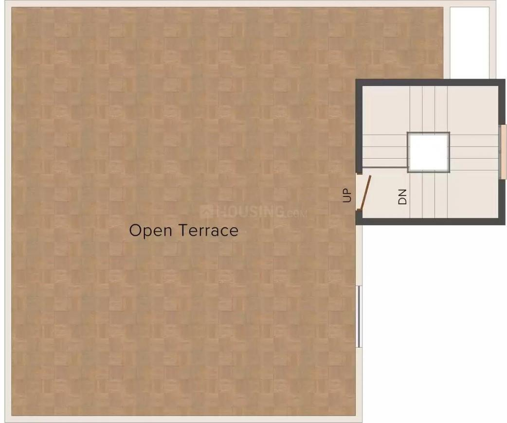 Alliance Anand Second Floor Plan: 3 BHK Unit with Built up area of 2142 sq.ft 3