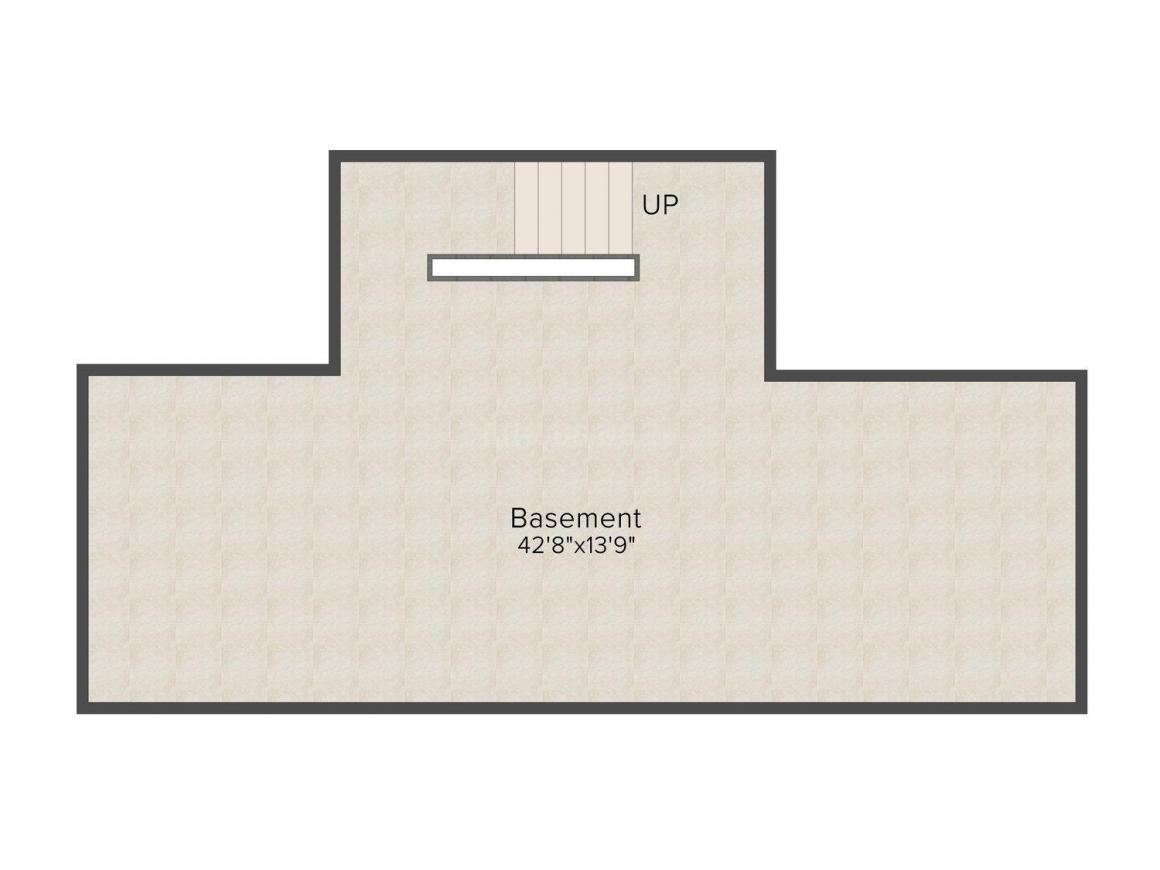 Sobha International City - Duplex Villa Floor Plan: 3 BHK Unit with Built up area of 3143 sq.ft 1