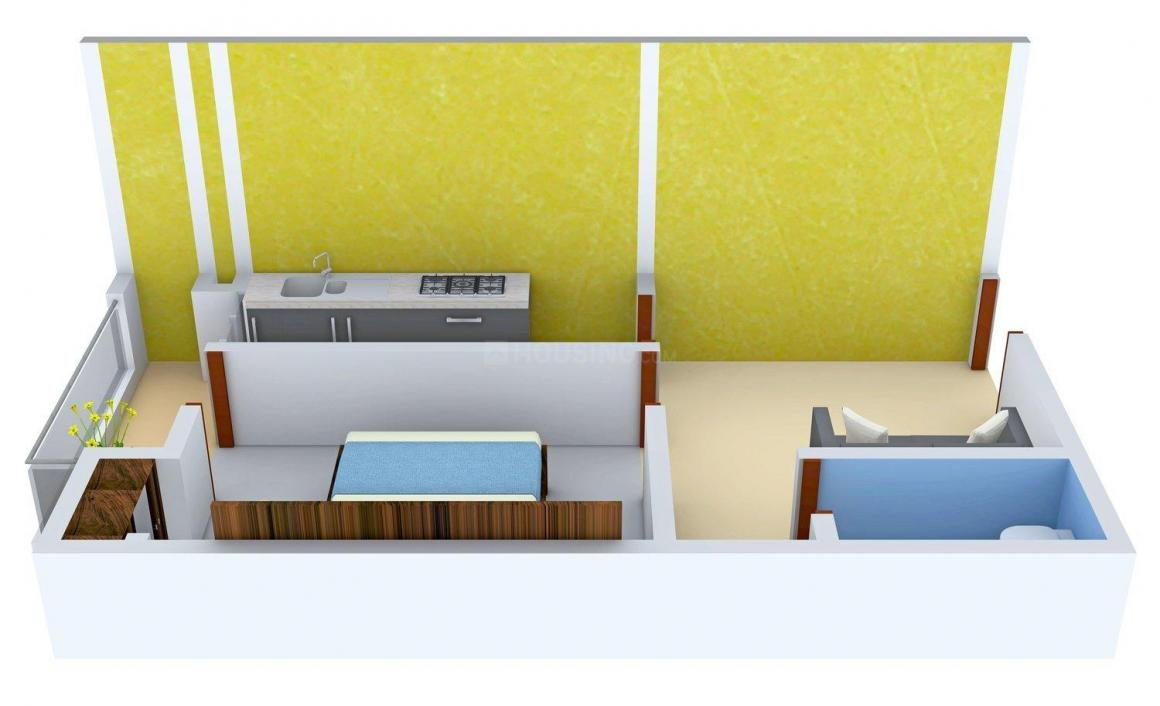 Floor Plan Image of 0 - 400 Sq.ft 1 BHK Apartment for buy in AD Homes 2