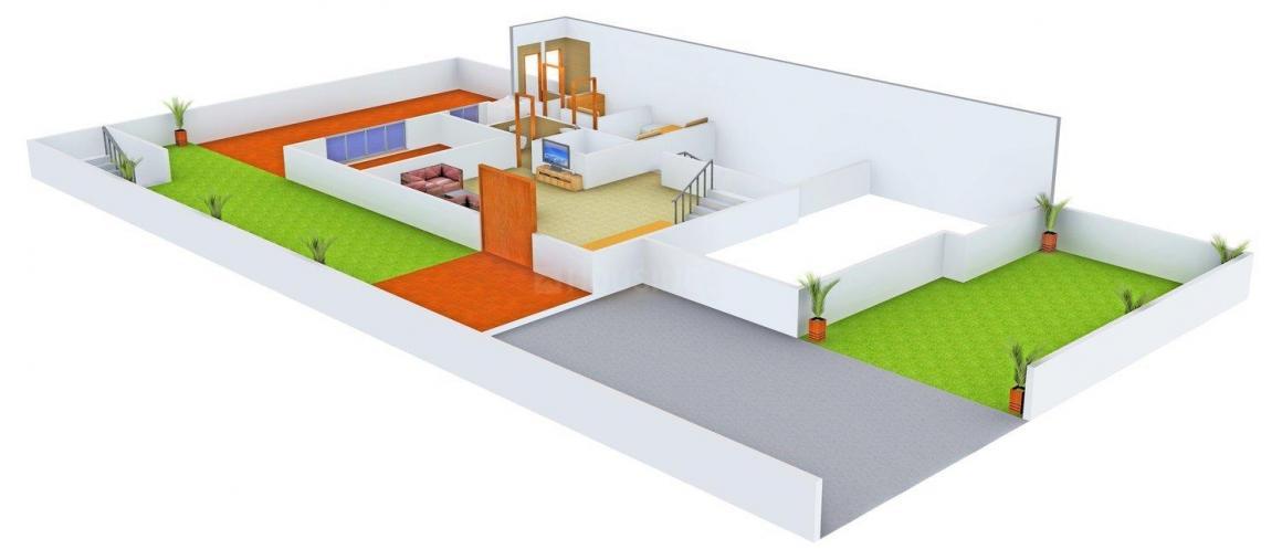 Floor Plan Image of 0 - 4500 Sq.ft 5 BHK Villa for buy in Jain Villa - 10