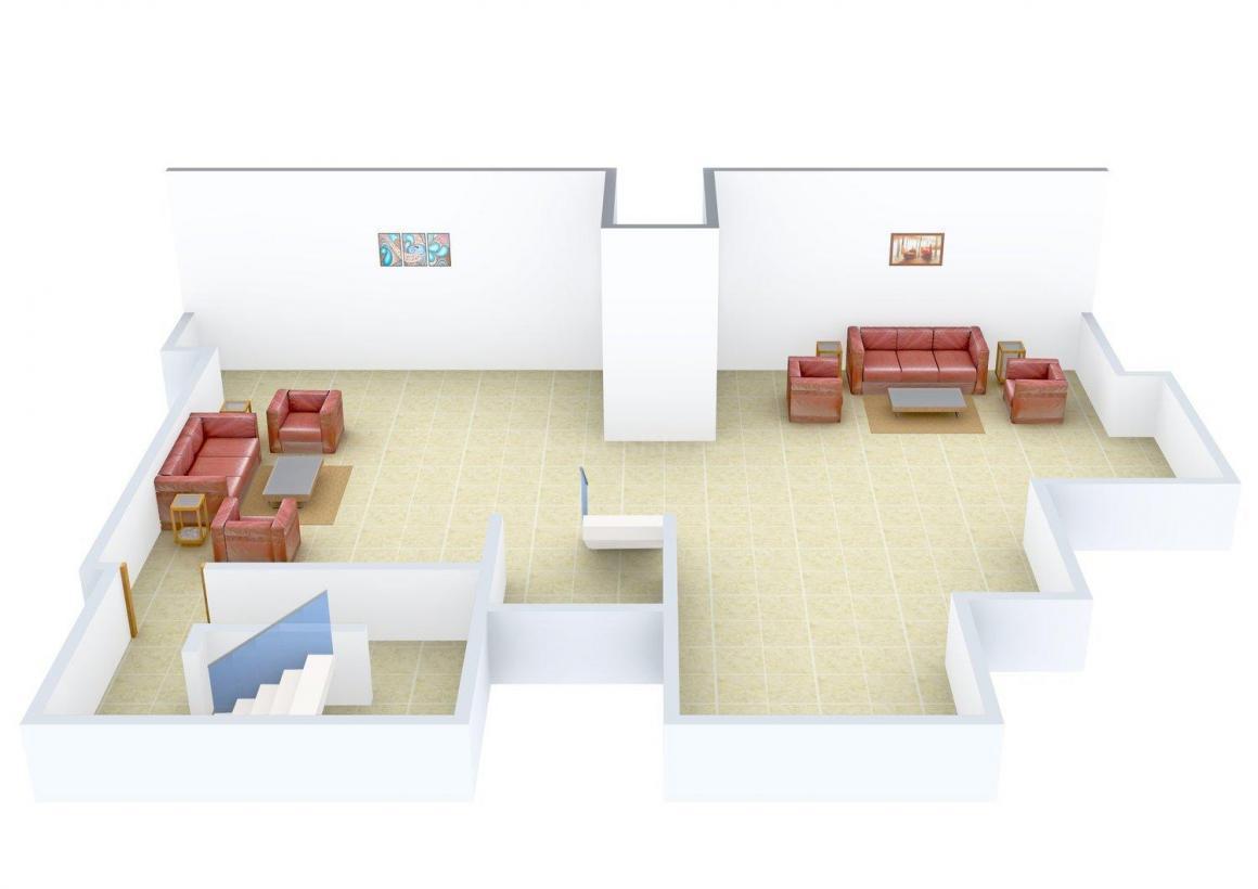 Floor Plan Image of 0 - 2600 Sq.ft 3 BHK Independent Floor for buy in BF-148 SL-3