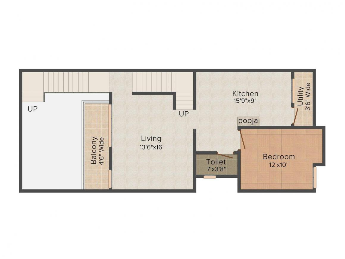 2D - First Floor