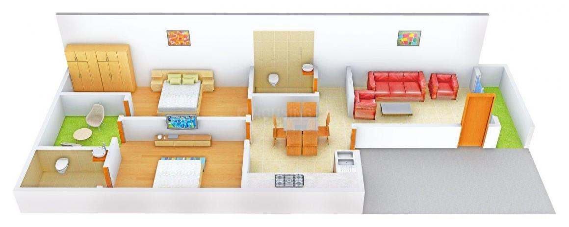 2 BHK Row House