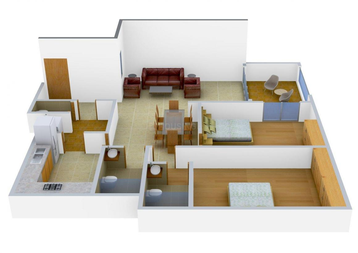 Floor Plan Image of 530.0 - 4075.0 Sq.ft 1 BHK Apartment for buy in UKN Esperanza