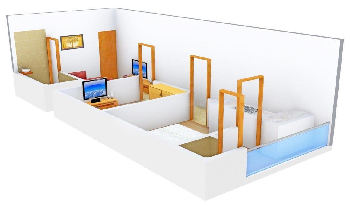 Floor Plan Image of 0 - 540.0 Sq.ft 2 BHK Independent Floor for buy in Shree Satnam Gokul Dham 6