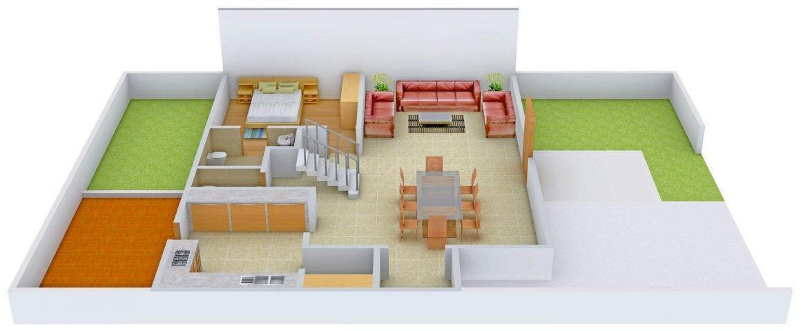 Golden Swarnim Bungalows Floor Plan: 4 BHK Unit with Built up area of 4950 sq.ft 1