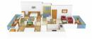 Ansal Ansal Town Floor Plan: 2 BHK Unit with Built up area of 1692 sq.ft 1