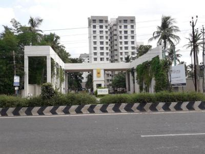 Gallery Cover Image of 580 Sq.ft 1 BHK Apartment for rent in Sobha Meritta, Pudupakkam for 10000