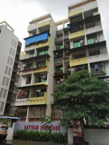 Gallery Cover Image of 1000 Sq.ft 2 BHK Apartment for rent in Satyam Heritage, Karanjade for 9500
