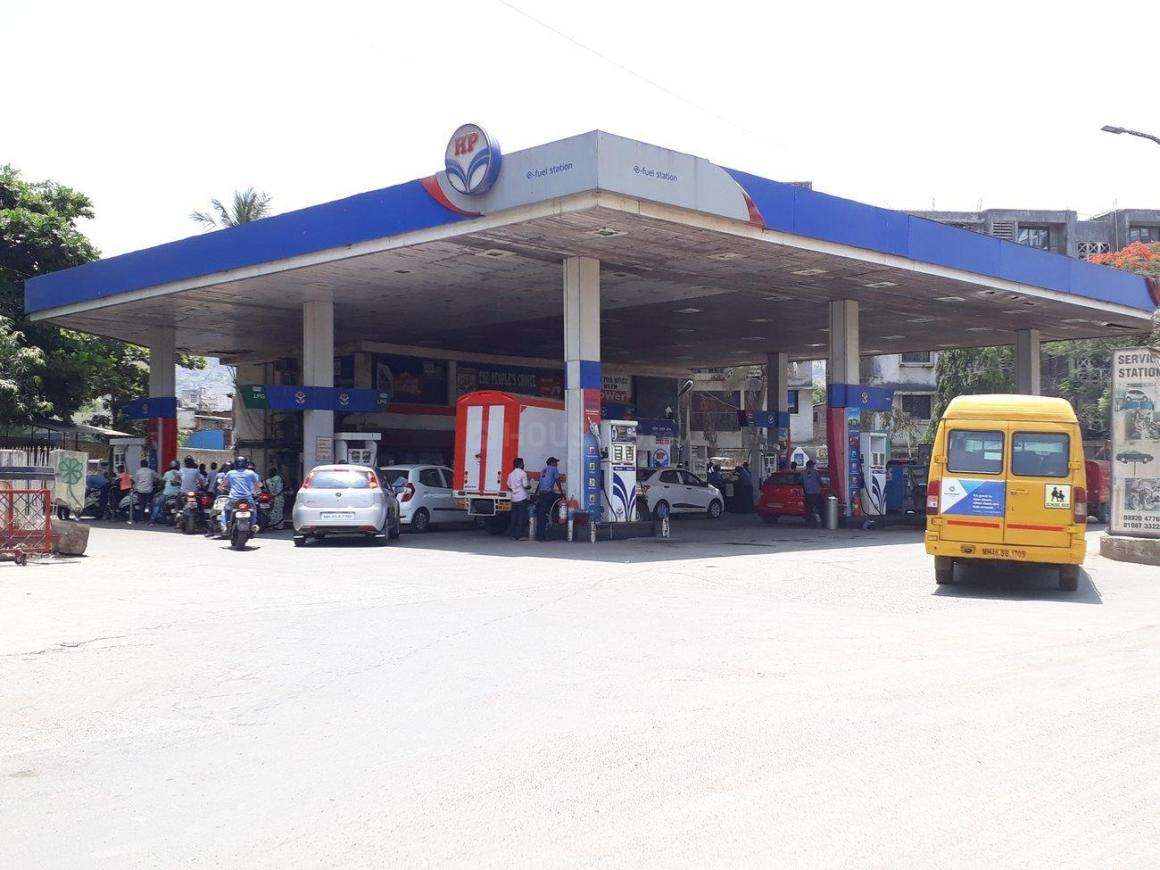 Petrol Pumps Image of 450 Sq.ft 1 BHK Independent Floor for buy in Kalwa for 1800000