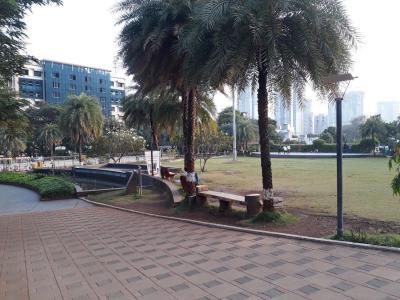 अशर मेपल, मुलुंड वेस्ट  में 10000000  खरीदें  के लिए 557 Sq.ft 2 BHK अपार्टमेंट के पार्क  की तस्वीर