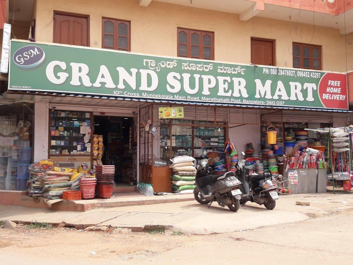 Groceries/Supermarkets Image of 1050.0 - 1460.0 Sq.ft 2 BHK Apartment for buy in Radiant Pearl