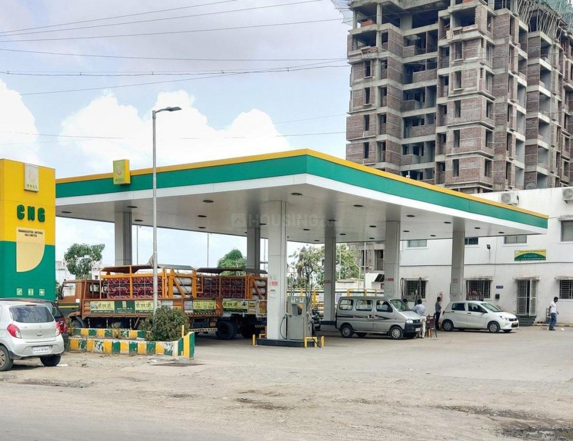 Petrol Pumps Image of 840 Sq.ft 1 BHK Apartment for buy in Wakad for 4900000