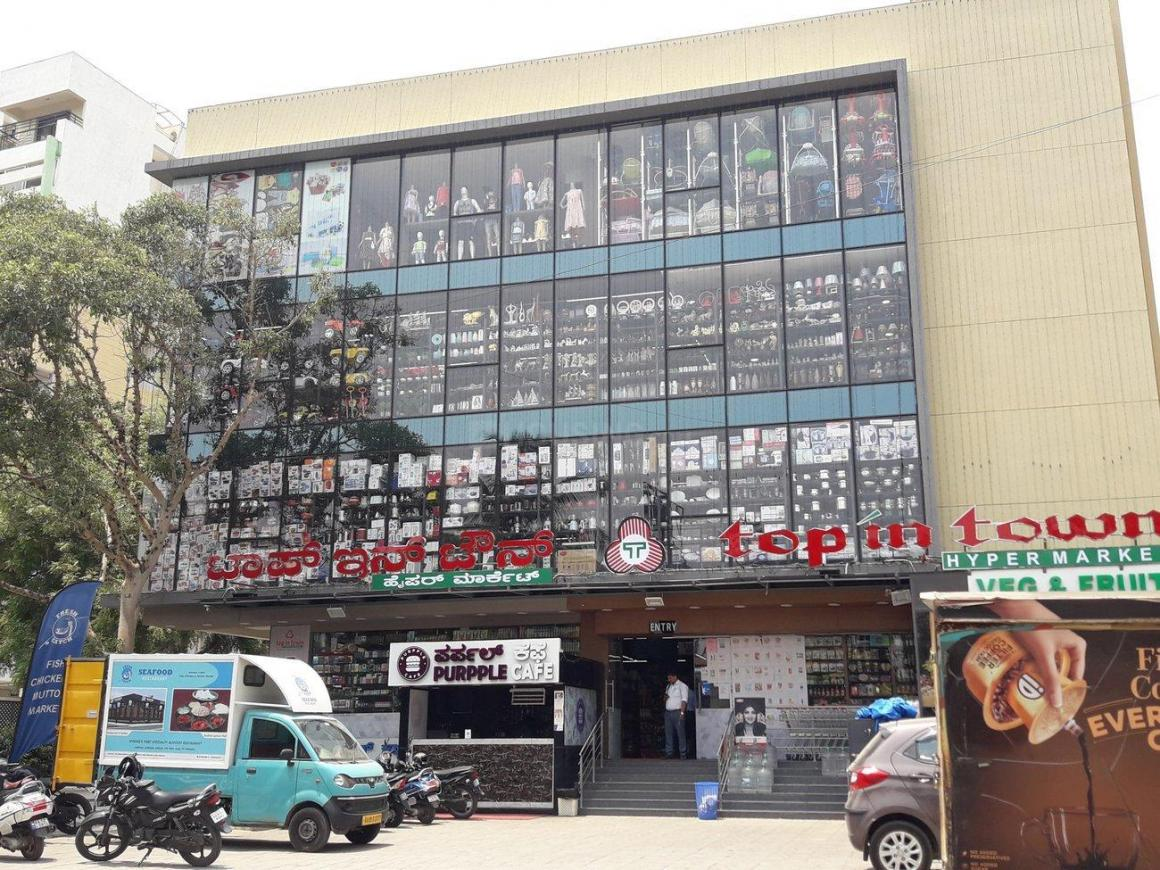 Shopping Malls Image of 930 Sq.ft 1 BHK Independent House for buy in Whitefield for 5200000