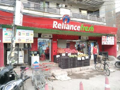 Groceries/Supermarkets Image of 1593 Sq.ft 4 BHK Independent Floor for buy in Mansarover Garden for 12500000