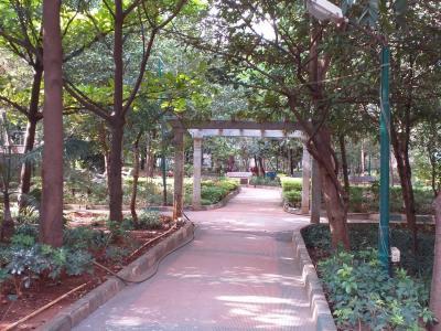टोटल एनवायरनमेंट द गुड अर्थ अपार्टमेंट्स में खरीदने के लिए 321 - 420 Sq.ft 1 BHK अपार्टमेंट पार्क  की तस्वीर