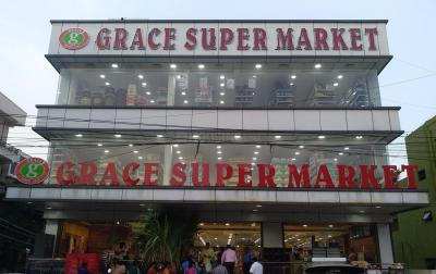 Groceries/Supermarkets Image of 1140.0 - 1235.0 Sq.ft 2 BHK Apartment for buy in Varthini Tulip Park