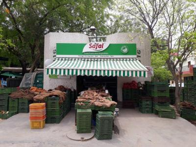 Groceries/Supermarkets Image of 450 Sq.ft 1 RK Independent Floor for rent in Sector 56 for 8500