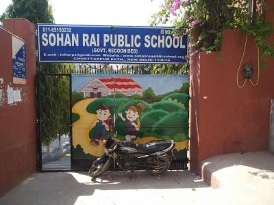 Schools & Universities Image of 630 Sq.ft 2 BHK Apartment for buy in Chhattarpur for 3100000