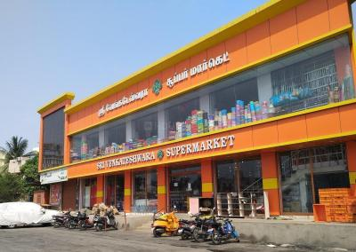 Groceries/Supermarkets Image of 838.0 - 1007.0 Sq.ft 2 BHK Apartment for buy in Man Eden Castle
