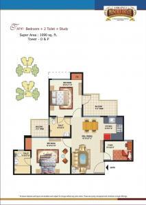 Amrapali Princely Estate Brochure 4
