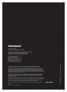 Puravankara Coronation Square Apartment Brochure 20