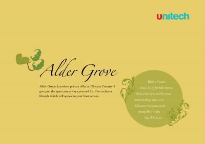 Unitech Alder Grove Brochure 2