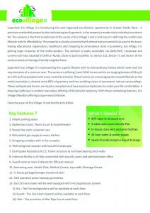 Supertech Eco Village 3 Brochure 2