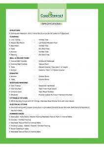 Casa Greens 1 Brochure 3