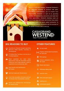 Casagrand Westend Brochure 3