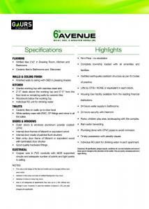 Gaursons Hi Tech 6th Avenue Brochure 10