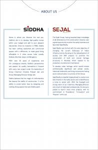 Siddha Sky Phase 1 Brochure 18