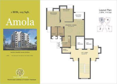 Hero Haridwar Greens Apartments Brochure 31