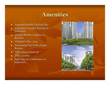 DLF New Town Heights Brochure 4