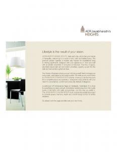 Jaya Bharathi ADR Jaya Bharathi Heights Brochure 3