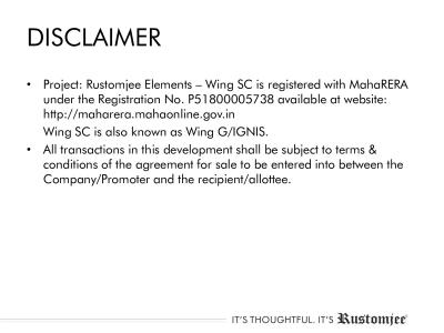 Rustomjee Elements Wing SC Brochure 46