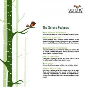 Serene Kshetra Brochure 3
