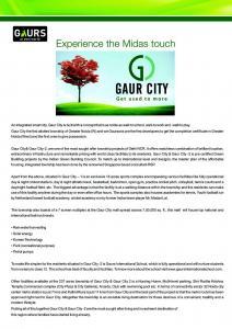 Gaursons Hi Tech 5th Avenue Brochure 2