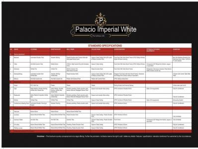 Tulsiani Palacio Imperial White Brochure 27