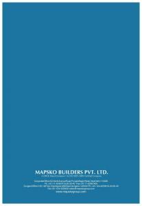 Mapsko Royale Ville Brochure 14