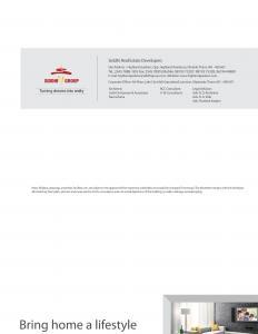 Siddhi Group Highland Gardens Brochure