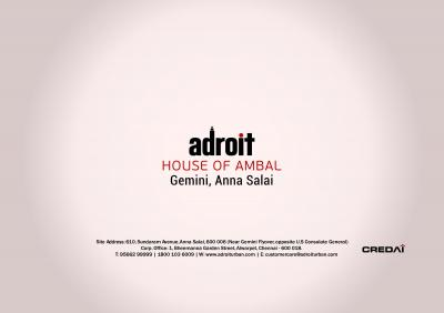 Adroit House of Ambal Brochure 19