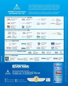 Aparna Oosmans Everest Brochure 7