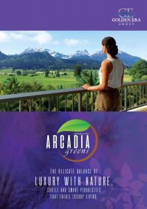 Golden Arcadia Greens Brochure 1