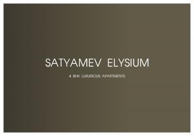 Satyamev Elysium Brochure 1