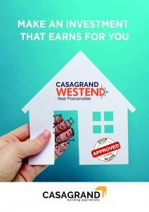 Casagrand Westend Brochure 1